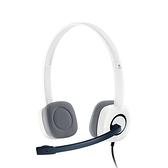 Logitech 羅技H150 白色立體聲耳麥耳機