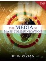 二手書博民逛書店 《The Media of Mass Communication, 2008 Update》 R2Y ISBN:020549370X│JohnVivian