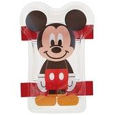 〔小禮堂〕迪士尼 米奇 造型透明果凍凝膠感保冷劑《紅黑.站姿》保冰劑.冰墊.冰敷袋 4973307-46012