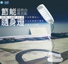 逸奇e-Kit 28顆亮白LED燈/ 電池USB雙用二合一/輕巧百變創意蛇管檯燈夾UL-8002_W