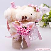 婚禮小物-甜蜜粘TT婚紗熊戒指盒-戒指收納盒/婚禮小物/送客禮物/迎賓禮/二進 幸福朵朵