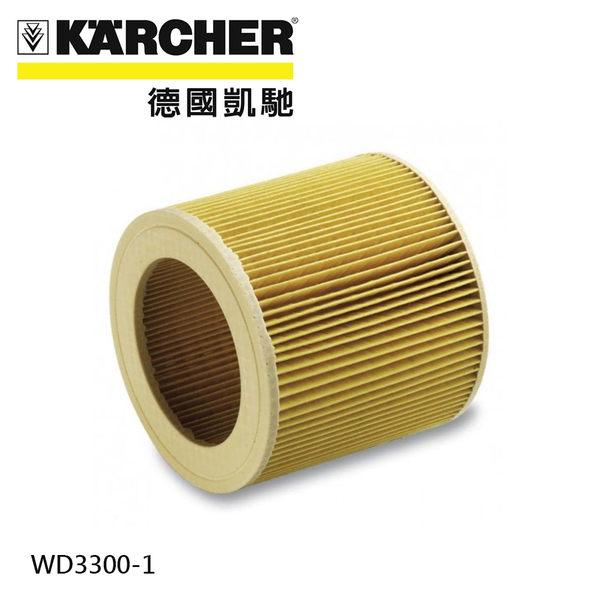 現貨馬上出【德國凱馳 KARCHER】乾濕兩用吸塵器 WD3300【配件 濾心 64145520】