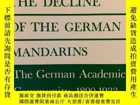 二手書博民逛書店The罕見Decline of the German Manda