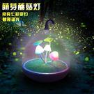 【PB限宅配】LED小夜燈 蘑菇燈 小鳥燈 省電 感應 觸控 露營燈 USB 檯燈 台燈 壁燈 手提燈 交換禮物