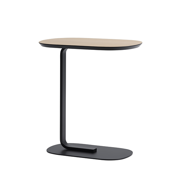 丹麥 Muuto Relate Side Table 連結系列 機能 邊桌(橡木色桌面)