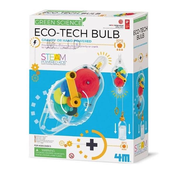 【4M】科學探索系列 - 00-03426 環保動力燈 Eco-Tech Bulb
