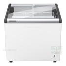 德國利勃LIEBHERR 2尺8 弧型玻璃推拉冷凍櫃145L (EFI-2153)附LED燈