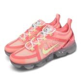 【五折特賣】Nike 慢跑鞋 Wmns Air Vapormax 2019 粉紅 黃 女鞋 運動鞋 氣墊 【PUMP306】 AR6632-602