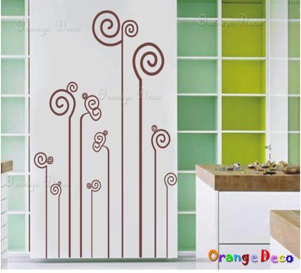 壁貼【橘果設計】幾何圖 DIY組合壁貼/牆貼/壁紙/客廳臥室浴室幼稚園室內設計裝潢