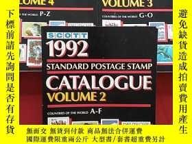 二手書博民逛書店SCOTT罕見1992 CATALOGUE VOLUME【2 3 4】三本合售Y290789
