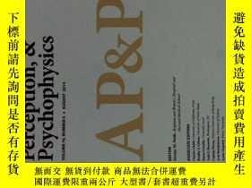 二手書博民逛書店Attention,罕見Perception, & Psychophysics (Journal)08 2014心