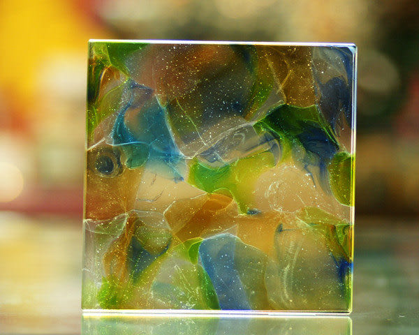 鹿港窯~居家開運琉璃磚【印象派S】 附古法製作珍藏保證卡◆免運費送到家