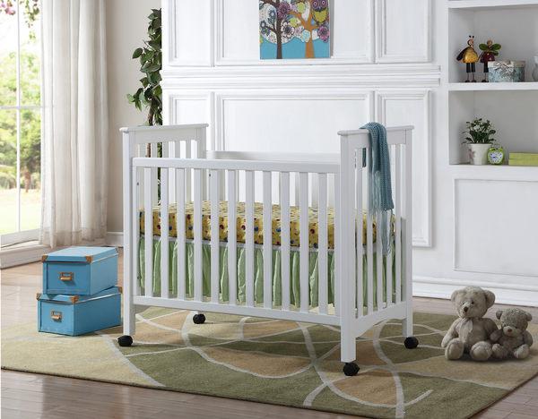 【愛吾兒】Levana 2017最新《二合一系列》mini#1 實木製二合一嬰兒成長床 兩色可選