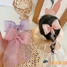 女童蝴蝶結發卡頭飾兒童夾子女馬尾發飾【淘嘟嘟】
