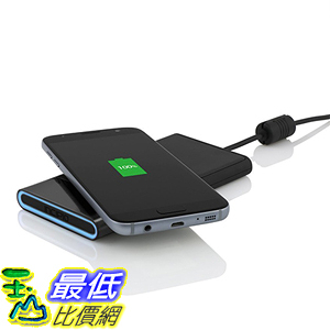 [美國代購] Incipio PW-262 充電器 [Slim] [Charge Pad] GHOST 3 Coil Qi Wireless Charging Pad- Black