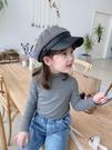 女童上衣 小布丁童裝秋裝2021新款女童洋氣純棉打底衫兒童長袖T恤上衣【快速出貨八折下殺】