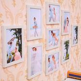 簡約照片牆裝飾 客廳相框牆創意相框掛牆7寸九宮格臥室組合相片牆 英雄聯盟MBS