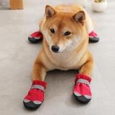 狗狗鞋子夏季不掉金毛鞋