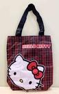 【震撼精品百貨】Hello Kitty 凱蒂貓~三麗鷗 KITTY~環保收納袋-造型頭*23791