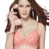 思薇爾-啵時尚系列B-E罩壓模蕾絲包覆內衣(芙蓉粉)