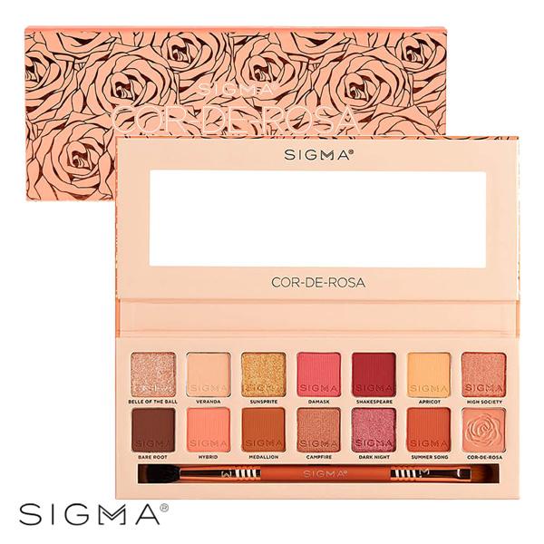Sigma 14色初春玫瑰眼影盤 16.24g Cor-De-Rosa Eyeshadow Palette - WBK SHOP