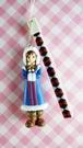 【震撼精品百貨】NEO LICCA麗卡~鑰匙圈吊飾-印地安藍
