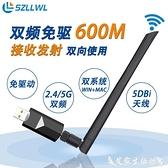 szllwl 600mb雙頻無線USB網卡2.4G/5Gwin