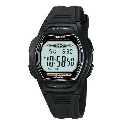 LW-201-1A卡西歐CASIO十年電池系列運動錶公司貨