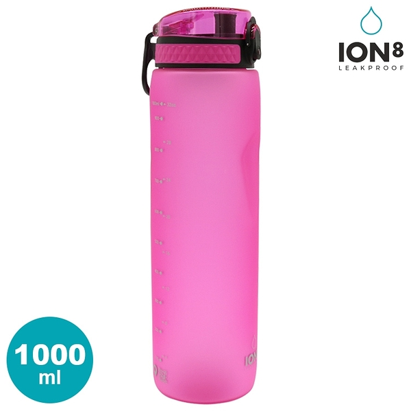 ION8 Quench運動休閒水壺 I81000【Pink粉】/ 城市綠洲(100%不含BPA無毒 100%防漏 大容量水壺)