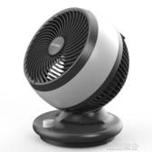 電風扇台式家用宿舍靜音空氣迴圈扇渦輪對流搖頭小台扇學生【快速出貨】