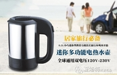 雙電壓電水熱壺迷你電水壺歐洲旅行水壺出國旅行電水壺110V水壺交換禮物