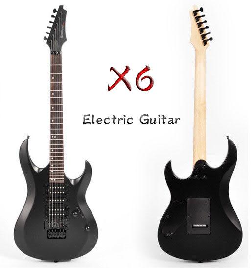 【奇歌】Sebrew希伯萊,X6 雙單雙電吉他,小搖座+24高品數,雙線圈V-5拾音器,懸浮顫音+全配