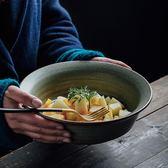 家用大號湯碗陶瓷泡面日式餐具個性拉面碗創意復古湯盆沙拉碗大碗 卡卡西