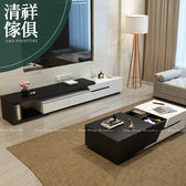 【新竹清祥傢俱】PLF-12LF53 - 現代簡約設計雙色伸縮電視櫃 客廳 電視櫃 現代 延伸電視櫃