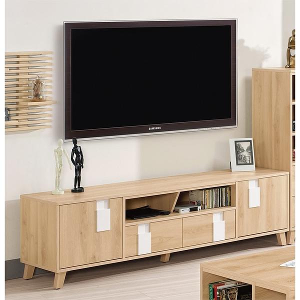 【森可家居】漢娜6尺長櫃 8CM816-2 電視櫃