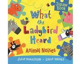 What The Ladybird Heard:Animal Noises Jigsaw Book 小瓢蟲聽到了什麼? 精裝拼圖書