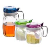 玻璃調料調味盒瓶味精鹽糖收納罐油壺家用