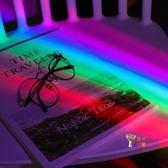 彩虹投影器 七彩浪漫星空彩虹燈投影儀夢幻夜光創意小夜燈網紅ins床頭台燈 雙12提前購