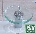 【 麗室衛浴】檯面龍頭 A0018 (玻璃瀑布型) F-180