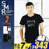 短T-立體NYC溫變短T-街潮百搭變色款《004CD318》黑色.白色【現貨+預購】『SMR』