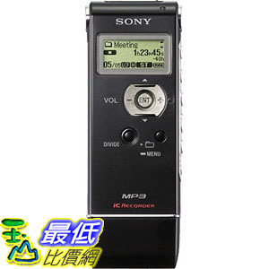 [107美國直購] 錄音筆 Sony ICD-UX81 Digital Voice Recorder with 2GB Flash Memory