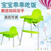 寶寶餐椅多功能兒童餐椅嬰兒吃飯椅子餐桌便攜式家用bb凳學座椅『麗人雅苑』