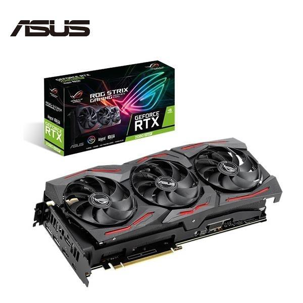 華碩 ASUS ROG-STRIX-RTX2080S-A8G-GAMING 顯示卡