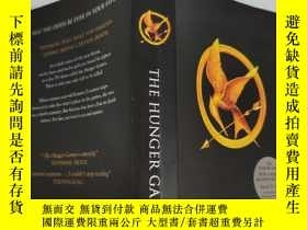 二手書博民逛書店the罕見hunger games 饑餓遊戲Y200392