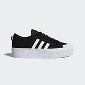 Adidas Nizza Platform W [FV5321] 女鞋 運動 休閒 經點 厚底 滑板 穿搭 愛迪達 黑白