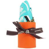 Hermes Les Flacons Bandana 寶瓶圖騰印花 Twilly 絲巾 全新品