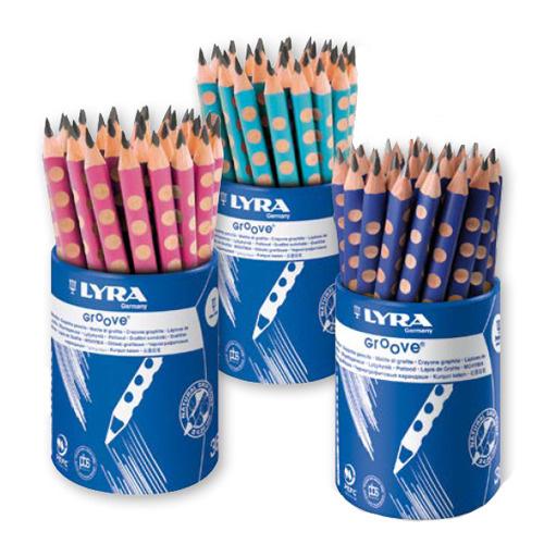 【德國LYRA】Groove三角洞洞鉛筆(粗12入) 產地:德國