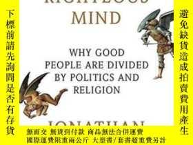 二手書博民逛書店The罕見Righteous MindY362136 Jonathan Haidt Vintage, 2013