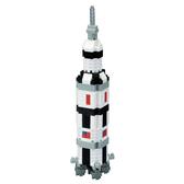 【日本 Kawada 河田】Nanoblock 迷你積木 土星5號/農神5號 火箭 NBH-130