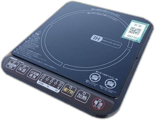 YAMAZEN【日本代購】山善 電磁爐IH烹飪器1400W 5檔調節YEA-140
